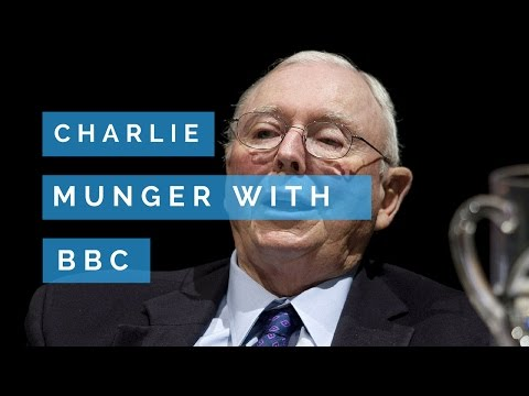 Charlie Munger: Sitting With The BBC [Charlie Is 88 Years Of Age...]