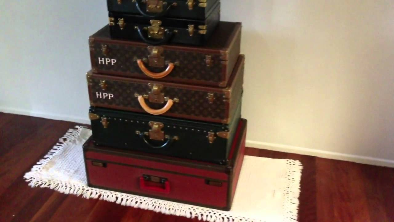 70dc2d327f37 My Louis Vuitton Hard Case Stack for 2013 - Hard Sided Suitcases ...
