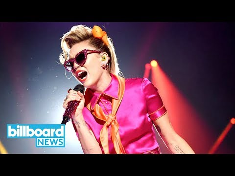 Miley Cyrus Performs 'Younger Now' As a...