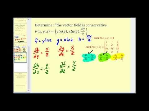 Conservative Vector Fields