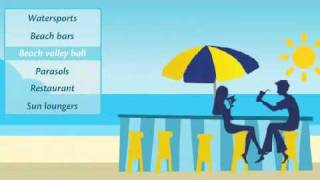 Sheraton Miramar Resort Beach - Red Sea Coast holidays, Egypt