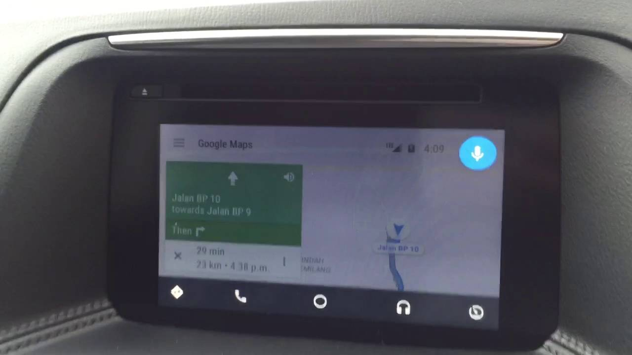 Receiving a Whatsapp message with Android Auto