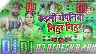 ✔️Bhojpuri Super Hit Song Samar Singh ka/कइली रोपनिया निहुर निहुर के/✔Dj Remix Song Rk Babu official