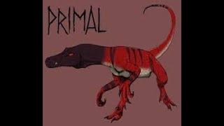 Primal: Genndy-raptor timelapse draw