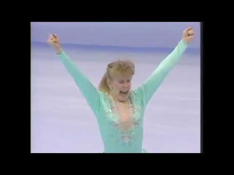 """Tonya Harding 1991 championship skate - """"The Passenger"""" by Siouxsie and the Banshees"""