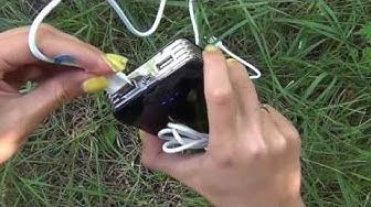 Pin dự phòng, pin dự trữ chính hãng Yoobao Thunderbolt Power Bank YB 665 15600mAh   www dangcap9x co