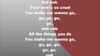 Delilah GO Instrumental with lyrics