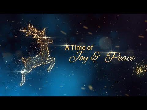 Animated Christmas Card Template - Christmas Is...