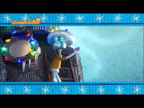 Spongebob Christmas 2014 Bumper 1 [Nickelodeon Greece]