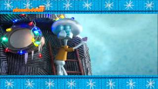Spongebob Christmas 2014 Bumper 1 [Nickelodeon Greece]