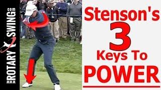 Henrik Stenson Golf Swing: 3 Keys to Improve Your Power