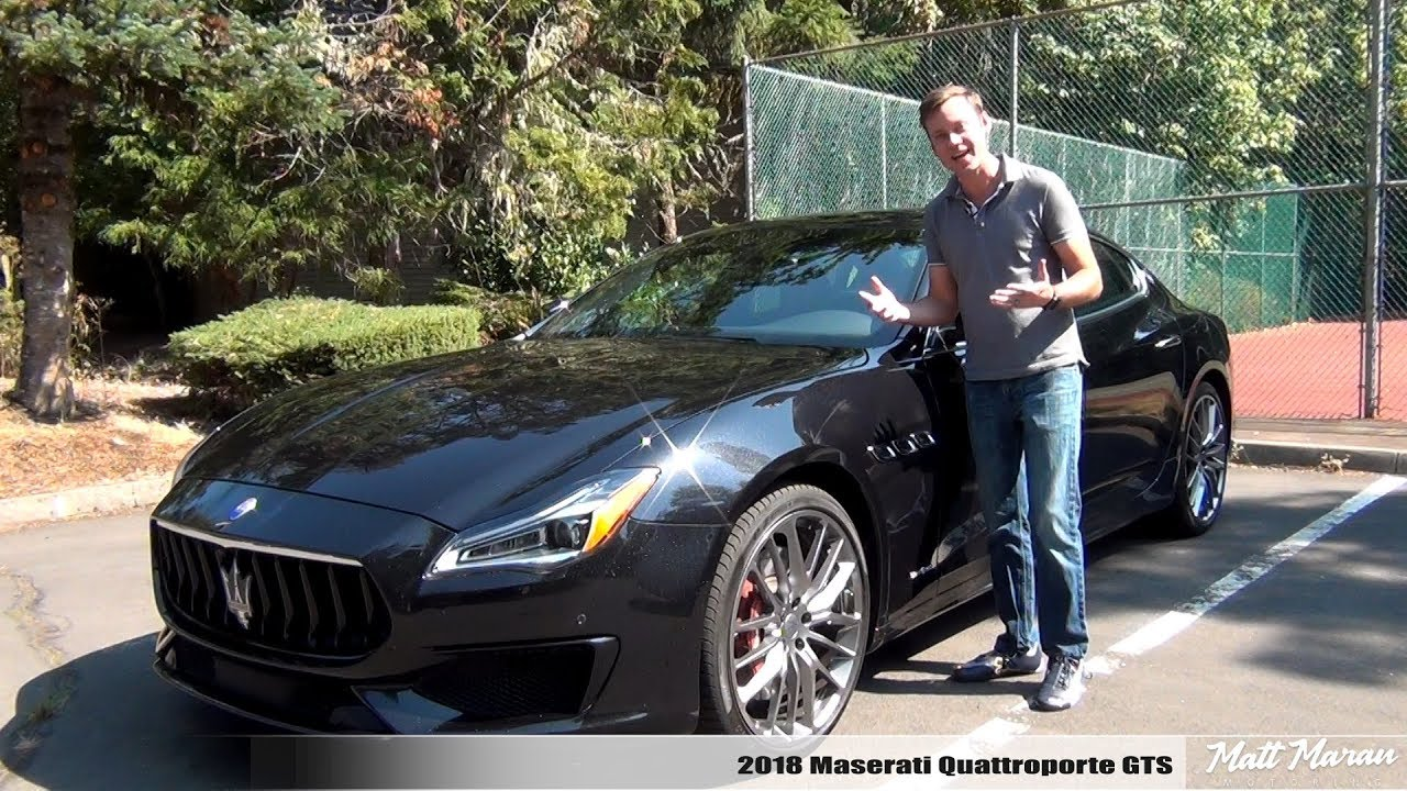 review 2018 maserati quattroporte gts youtube. Black Bedroom Furniture Sets. Home Design Ideas