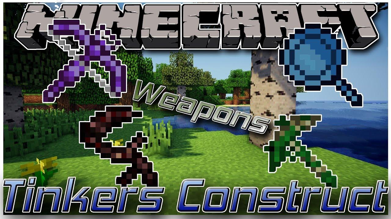 minecraft mod 1.12.2 tinkers construct