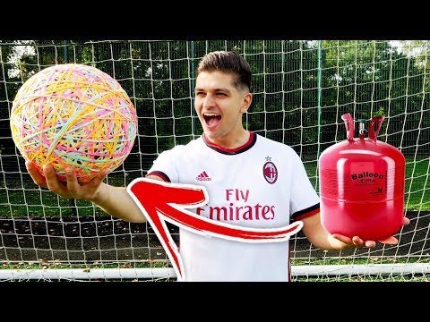 $300 HELIUM ELASTIC BAND FOOTBALL!!