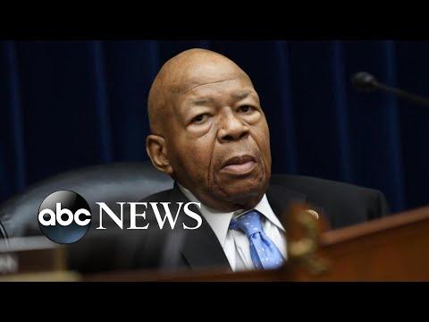 St. Pierre - Congressman Elijah Cummings Dies At Johns Hopkins Hospital