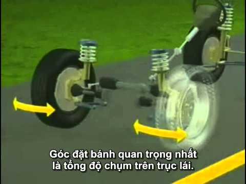 Hệ thống treo: Góc đặt bánh xe (Viet sub)