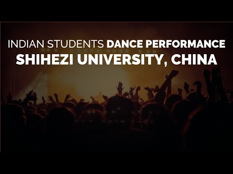 Shihezi University Indian Tamil dance by Sept. 2012 Indian Students in China