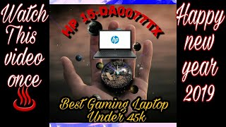 HP LAPTOP 15-da0077TX UNBOXING AND OVERVIEW Best for Gaming