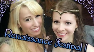 Renaissance Festival Fun Vlog !
