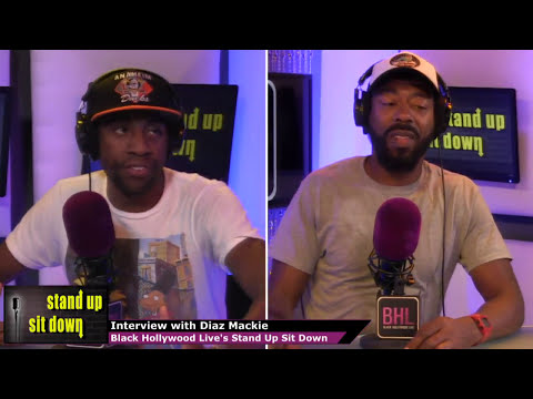 Diaz Mackie Talks About Stand Up Comedy | BHL's Stand-Up, Sit-Down