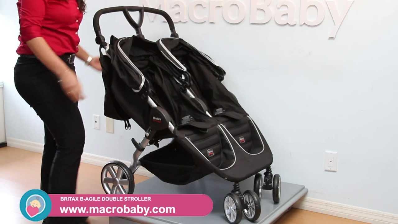 Macrobaby Britax B Agile Double Stroller