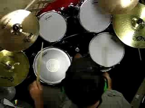 """Drum drum tabs three days grace : Three Days Grace """"Just Like You"""" Drum Cover Overhead View - YouTube"""