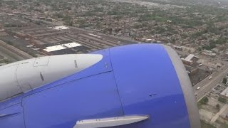 (HD) Southwest Airlines Boeing 737 Takeoff Runway 4R Chicago Midway International Airport KMDW/MDW
