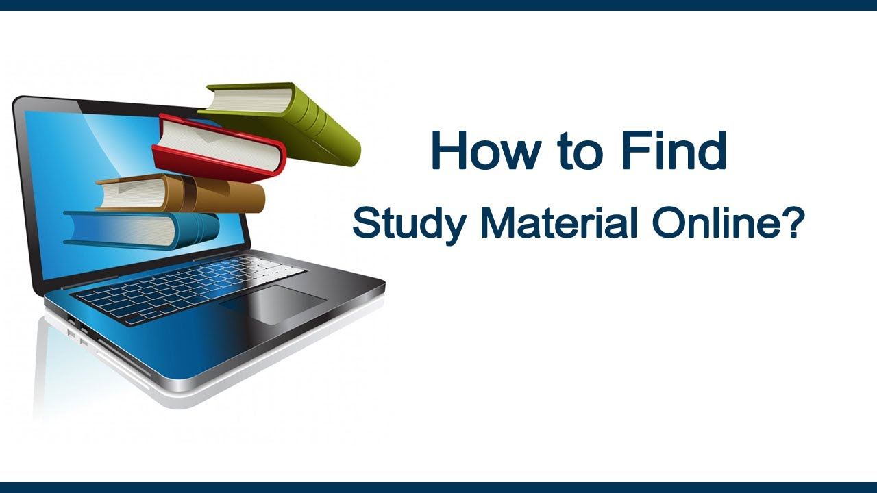 How to Find Study Material Online