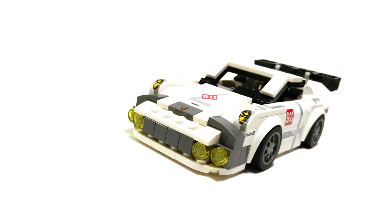 lego speed champions 75912 porsche 911 rsr moc youtube. Black Bedroom Furniture Sets. Home Design Ideas