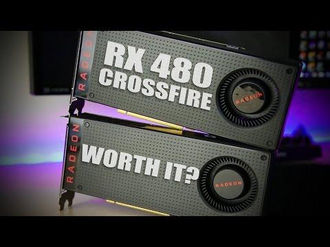 AMD RX480 Crossfire vs GTX1080 vs GTX1070 vs 970 SSC SLI