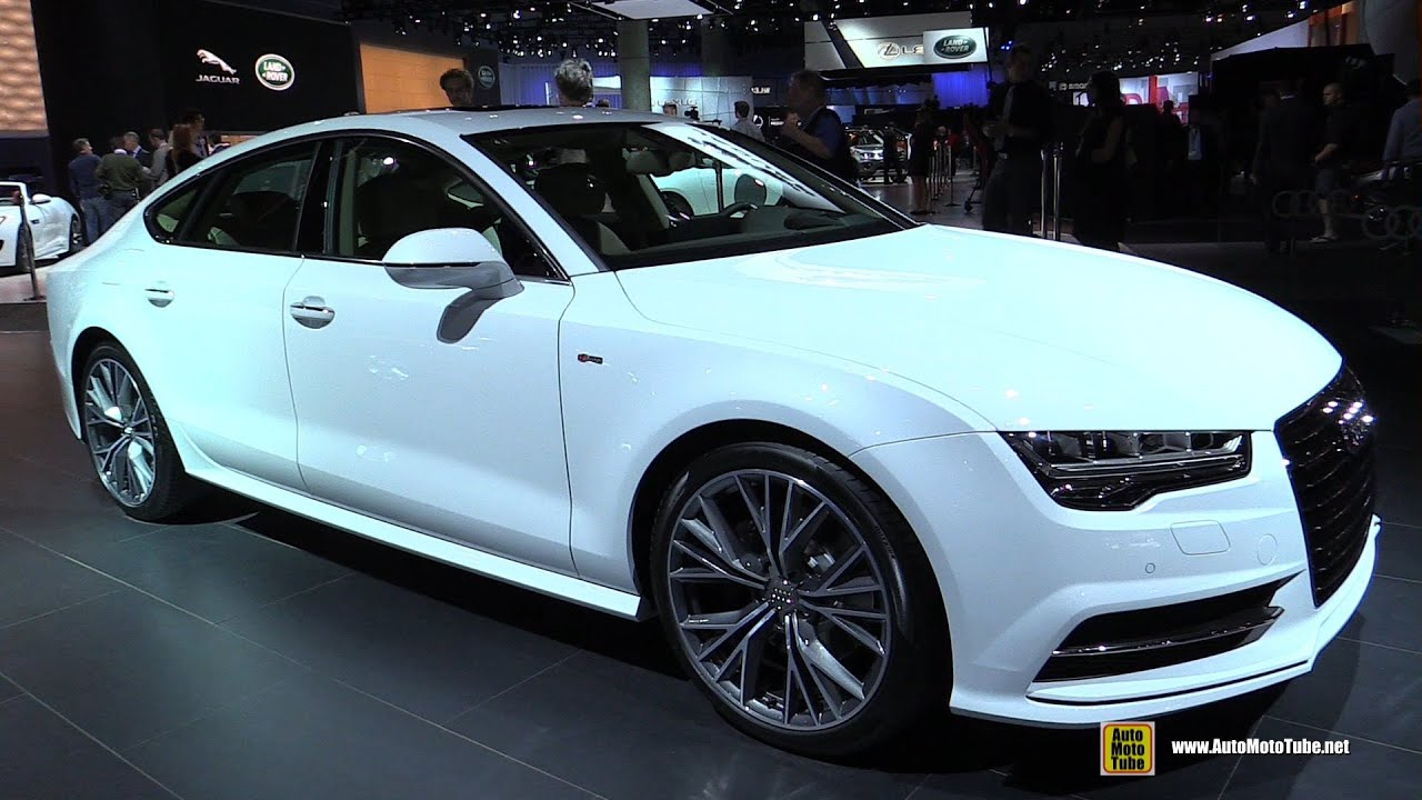 2015 Audi A7 Tdi S Line Exterior And Interior Walkaround