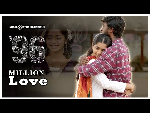 96 Love Scenes | 96 Movie | Vijay Sethupathi, Trisha | Govin