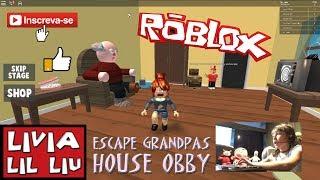Roblox - CASA DO VOVÔ (Grandpas House Obby) - Livia LIL Liu