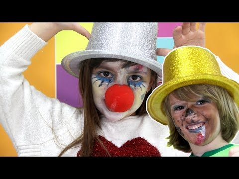 Thumbnail: KIDS MAKEUP - Clown makeup for kids and freddy five nights at freddy's