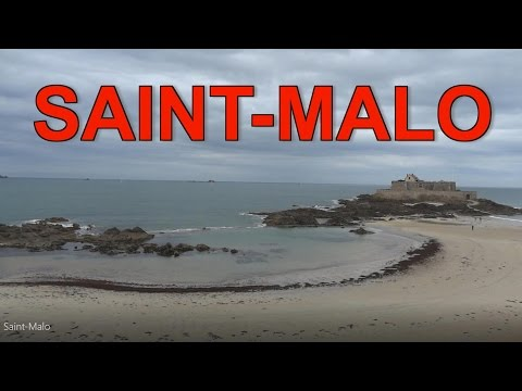 The ancient walled city of Saint-Malo