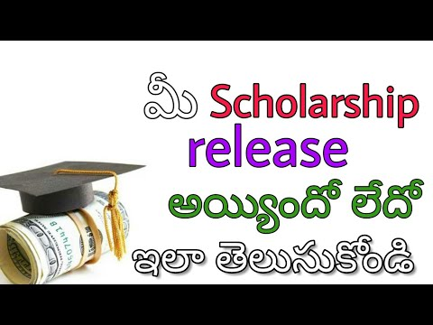 How to check scholarship status | telugu tech and news | william