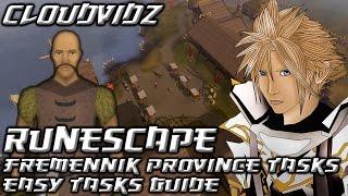 Runescape Fremennik Province Easy Tasks Guide HD