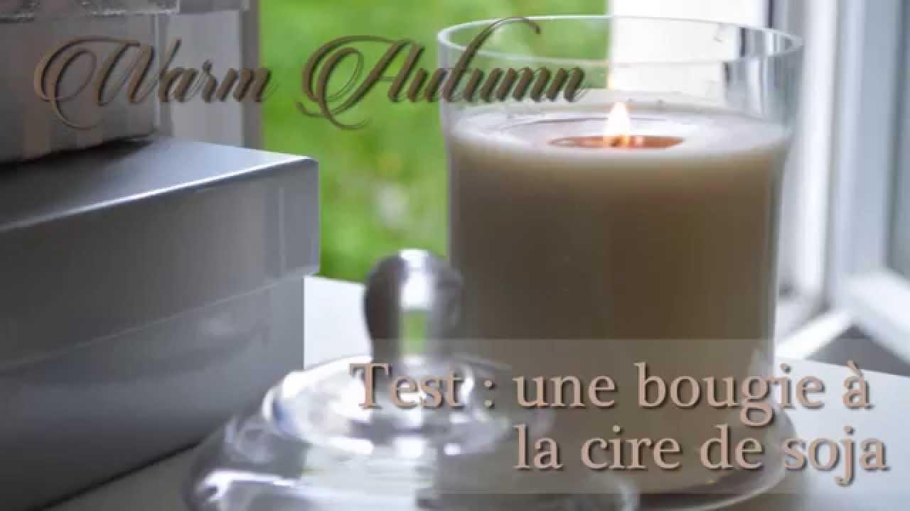 warm autumn test une bougie automnale non toxique la cire de soja youtube. Black Bedroom Furniture Sets. Home Design Ideas