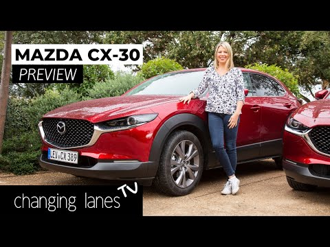 Mazda CX-30 Preview From Girona, Spain