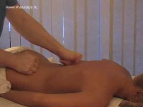 Back massage Массаж спины