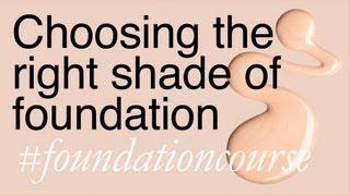 Finding The Right Shade Of Foundation - Lisa Eldridge