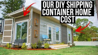 What This 40 Ft Container Home Cost To Build: Contractor Costs