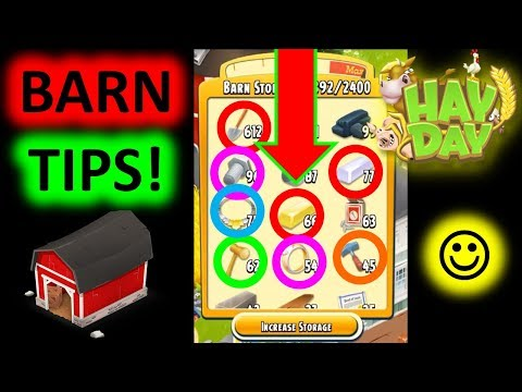 Hay Day! Barn Management Tips! Viewer Requested!