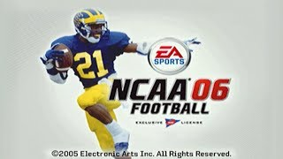 A LOOK BACK AT MY TIME IN NCAA FOOTBALL 06