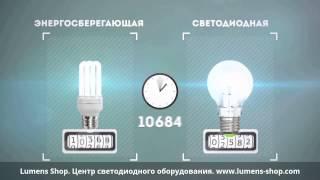 видео Преимущества светодиодных ламп