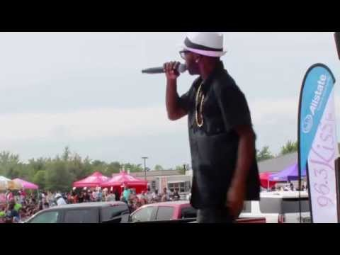 R&B Artiste Urban Mystic performing