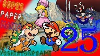 Entrada al Fuerte Francis【Super Paper Mario】Ep.25