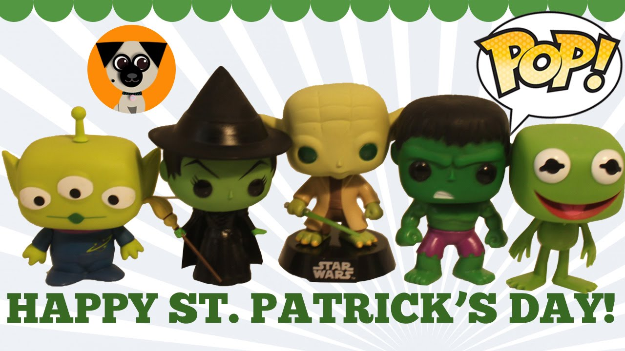 happy st patrick s day funko collection green muppets star