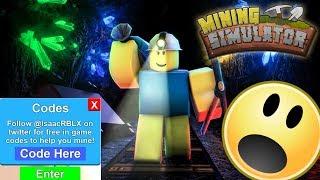 Mining Simulator Codes! | Roblox