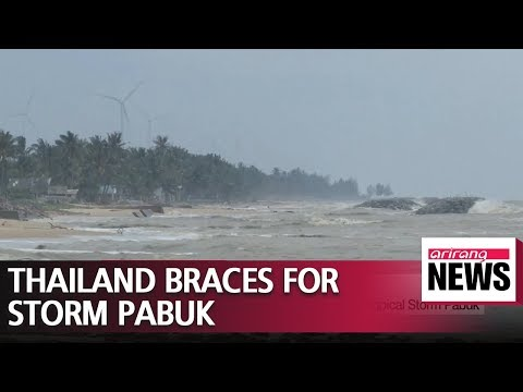 Thousands flee southern Thai islands ahead of Tropical Storm Pabuk